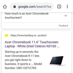 Mint. Condition acer chromebook11 touchscreen